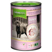 Natures Menu Junior Dog Food 12 x 400g Cans (Chicken with Turkey) big image