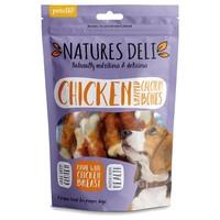 Natures Deli Chicken Wrapped Calcium Bone 100g big image