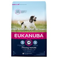 Eukanuba Thriving Mature Medium Breed Dog Food (Chicken) 12Kg big image