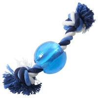 Buster Ice Blue Strong Ball with Rope big image
