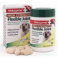 Vetzyme High Strength Flexible Joint Tablets big image
