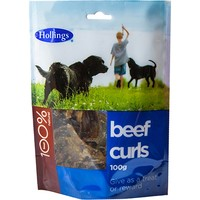 Hollings Beef Curls for Dogs 100g big image