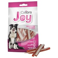 Calibra Joy Chicken & Fish Sandwich Treats for Dogs 80g big image