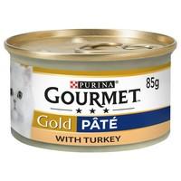 Purina Gourmet Gold Pate Wet Cat Food Tins (12 x 85g) big image