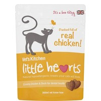 Vet's Kitchen Little Hearts Cat Treats 60g (Chicken) big image