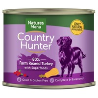 Natures Menu Country Hunter Dog Food Cans (Farm Reared Turkey) big image