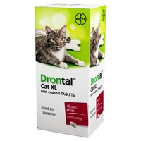 Drontal Cat XL Worming (OUTER 48 TABLETS) big image