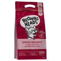 Meowing Heads Complete Senior Dry Cat Food (Senior Moments) big image