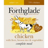 Forthglade Complete with Brown Rice Dog Food (Chicken/Liver/Veg) 18 x 395g big image