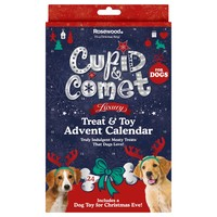 Rosewood Cupid & Comet Luxury Treat & Toy Advent Calendar for Dogs big image