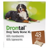 Drontal Plus XL Dog Worming Tablets big image