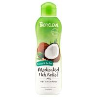 TropiClean Medicated Itch Relief Pet Shampoo (Oatmeal & Tea Tree) big image
