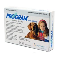Program Tablets 409.8mg Grey for Large Dogs (Pack of 6) big image