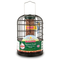 Walter Harrison's Squirrel Proof Protector Peanut & Suet Feeder big image
