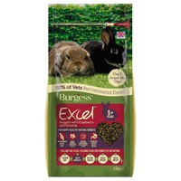 Burgess Excel Mature Rabbit Nuggets with Cranberry & Ginseng 2kg big image