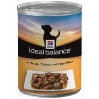 Hills Ideal Balance Adult Dog Food Tins 12 x 363g (Chicken & Vegetables) big image