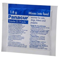 Panacur Wormer Granules 1.8g big image