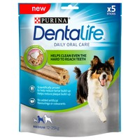 Purina Dentalife Dental Chews for Medium Dogs big image