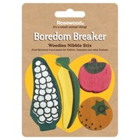 Rosewood Boredom Breaker Fruit Shaped Nibble Stix (Pack of 4) big image