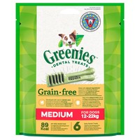 Greenies Grain Free Daily Dental Treats for Medium Dogs big image