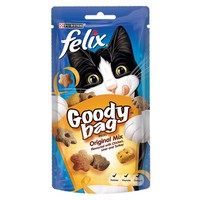 Felix Goody Bag Treats 60g (Original Mix) big image