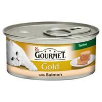 Purina Gourmet Gold Terrine Cat Food 12 x 85g Tins (Salmon) big image