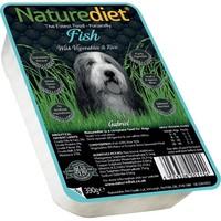 Naturediet Adult Dog Food 18 x 390g (Fish/Rice/Vegetables) big image