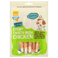 Good Boy Pawsley & Co Chewy Twists with Chicken big image