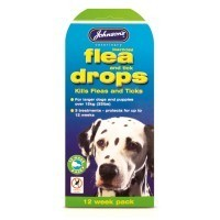Johnson's Flea Drops for Large Dogs (4 Weeks) big image