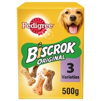 Pedigree Biscrok Original Dog Biscuits 500g big image