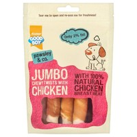 Good Boy Pawsley & Co Jumbo Chewy Twists with Chicken big image