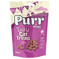 Purr Tasty Cat Treats with Liver 60g big image