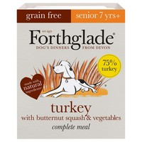 Forthglade Grain Free Complete Senior Wet Dog Food (Turkey) big image