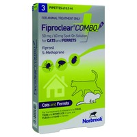 FiproClear Combo Spot-On Solution for Cats and Ferrets big image
