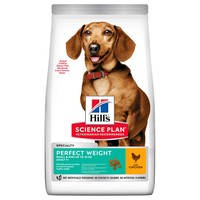 Hills Science Plan Adult 1-6 Perfect Weight Small & Mini Dry Dog Food (Chicken) big image