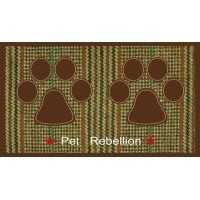 Pet Rebellion Dinner Mate Berkshire Tweed Mat 40 x 60cm big image
