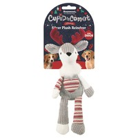 Rosewood Cupid & Comet Luxury Silver Plush Reindeer  big image