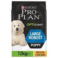 Purina Pro Plan OptiStart Large Robust Puppy Food (Chicken) 12kg big image