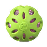 JW Crackle Heads Crunchy Ball big image