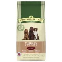 James Wellbeloved Adult Dog Dry Food (Turkey & Rice) big image