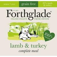 Forthglade Complete Meal Grain Free Senior Cat Food (Lamb & Turkey) 12 x 90g big image