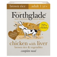 Forthglade Complete with Brown Rice Dog Food (Chicken/Liver/Veg) big image
