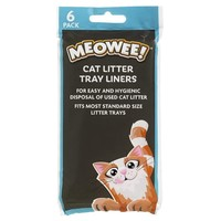 Good Girl Meowee Cat Litter Tray Liners (Standard) big image