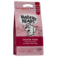 Barking Heads Complete Senior Dry Dog Food (Golden Years) big image