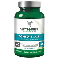 Vet's Best Comfort Calm Tablets For Dogs (60 Tablets) big image