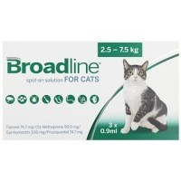 Broadline Spot-On Solution for Large Cats 3 Pack big image