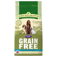 James Wellbeloved Senior Dog Grain Free Dry Food (Fish & Vegetables) big image