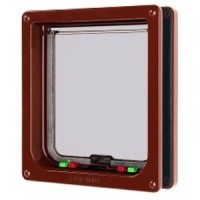 Cat Mate Large 4 Way Locking Cat Flap and Door Liner 221 big image