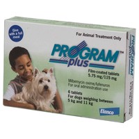 Program Plus 115mg Tablets for Small Dogs (Green) big image