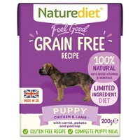 Naturediet Feel Good Grain Free Wet Food for Puppies (Chicken & Lamb) big image